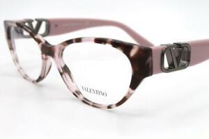 Valentino VA 3042 Eyeglasses Pink Havana 5098 Authentic 53mm