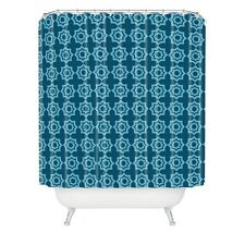 Khristian A Howell Moroccan Mirage Blue Shower Curtain, 69 x 72