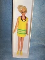 1965 Twiggy doll dressed by Mattel, White Collector box