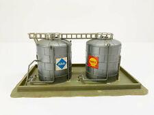 2131 Öl-hochtanks Shell, Aral, Faller N Gauge without Original Box