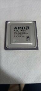 AMD-K6 AMD-K6-233ANR ceramic Processor Vintage Good Condition No Tested