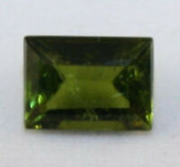 NATURAL GREEN TOURMALINE LOOSE GEMSTONE 7X9 FACETED OCTAGON GEM 2.3CT TU6