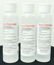 High Purity Benzyl Benzoate 360ml (4oz*3) Fragrance/Aroma Compound w/Fliptop cap
