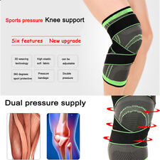 3D Kniebandage Kniestütze Stützbandagen Knieschutz Sport Laufen Schutz Knie DE