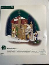 Mib Dept 56 Dickens' Village–Hop Castle Folly–Limited Edition –Department 56