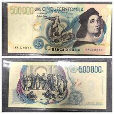 More details for italy 500,000 lire banknote (1997)