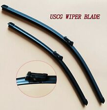 Front Wiper Blades Fit VW Golf With Push Button Arms 2013-2017 OEM Quality USCG