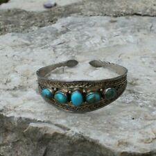 ancien bracelet oriental en argent ( ethnique )
