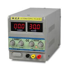 0-30V 0-10A WEP DC Alimentatore Regolabile laboratorio Alimentatore Power Supply