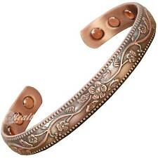 Copper Magnetic Bracelet Women Healing Bangle Arthritis Bracelet Joint Wrist -FC