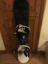 Nidecker elle 48 145 cm snowboard with nidecker angel bindings