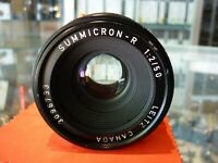 SUMMICRON-R 1:2 / 50 LEITZ CANADA FOR LEICA R CAMERA LENS - AU STOCK !