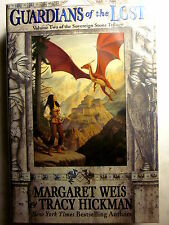 GUARDIANS OF THE LOST by Margaret Weis & Tracy Hickman (EOS/1st Print/2001)