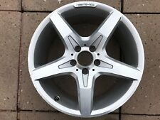 "GENUINE OEM MERCEDES BENZ AMG 18"" SLK R172 SPARE REAR ALLOY WHEEL A1724012702"