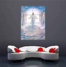 SECONDA VENUTA DI GESU 'CRISTO NUOVO GIGANTE Wall Art Print PICTURE POSTER oz596