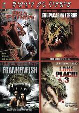 Boa vs. Python/Chupacabra Terror/Frankenfish/Lake Placid 3 (DVD, 2016, 4-Disc...
