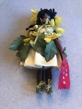 Professional Doll Artisan Guild 2nd Place Doll 1989 African American 11� Doll