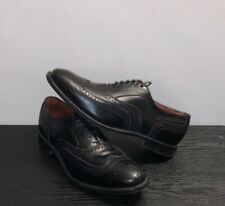 Allen Edmonds 'Madison Park' Black Leather Wingtip Brogue Shoes Mens 10D