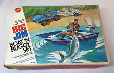 1973 Mattel BIG JIM BOAT N BUGGY SET ~ JUST THE BOX
