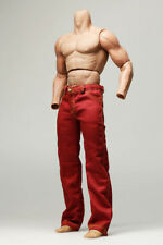 mc0318 Rose Red Relaxed Straight Long Pants for 1/6 Figure Enterbay Hot Toys TTL