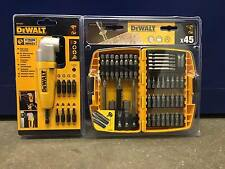 DeWalt DT71517 Impact Right Angle + DT71518 Screwdriving Bit Set  45 Piece