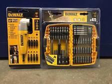 DeWalt DT71517 Impact Right Angle + DT71518 Screwdriving Bit Set  45 Piece