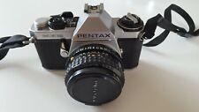 Pentax ME super Kamera mit SMC Pentax M 1,7/50mm Objektiv