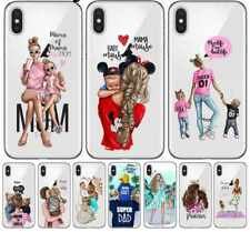 Baby Mom Girl Princess Phone Case for iPhone 6 S 7 8 Plus X XS Max XR 11 Pro SE