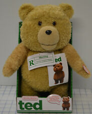 Ted the Movie Talking Bear Commonwealth 2012 Rated R MacFarlane Moving Mouth