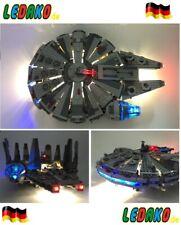 LED Set für Lego® Millenium Falcon 24 LED´s 75105, 7965 & 4504 updated Version