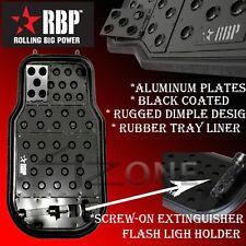 RBP UNIVERSAL BLACK ALUMINUM FLOOR MAT fit FORD F150 F250 F350 F450 EXPEDITION
