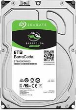 HARD DISK 3,5 SEAGATE BARRACUDA 6TB SATA3 256MB 6000GB ST6000DM003 5400Rpm
