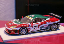 i FERRARI F360 MODENA N°71 JMB RACING 24H Mans2001 1:43 PHM modifiéd No Red line