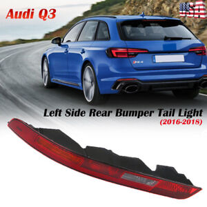 Left Rear Bumper Lower Tail Light Reverse Stop Lamp For AUDI Q3 SUV 2016-2018