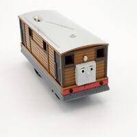Thomas Trackmaster Toby Motorized Locomotive 2009 Mattel Train Engine Tested