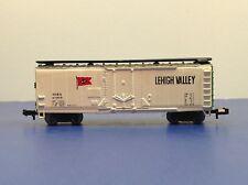 "N Scale ""Lehigh Valley"" NIRX 41003 Forty Foot Freight Train Box Car"