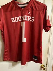 Nike Jordan Team Athletic Dri-Fit Womens Oklahoma Sooners #1 Shirt Size XXL