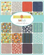 Moda Fabric Garden Project by Tim and Beck 42 Piece Charm Pack Stacker Squares