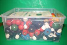 Molekülbaukasten Kalotten Modell Chemie Antik Leybold Lehrmittel Physik Phywe