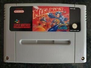 SNES Mega Man 7 with Instructions