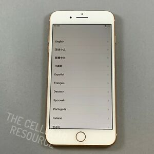 Nice iPhone 8+ Plus 256GB T-Mobile A1897 Gold Fully Tested *No Touch ID*