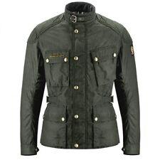 Genuine Belstaff McGee Wax Cotton Motorbike Motorcycle Jacket Black Brown SALE