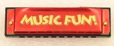 "Hohner Music Fun Harmonica in Key of ""C"" - Great Stocking Stuffer !"