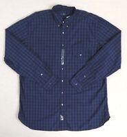 Polo Ralph Lauren Long Sleeves Plaid Cargo Pocket Classic Dress Shirt Big Tall
