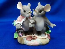 """Charming Tails Rare """"My Love For You Will Never Grow Old"""" Excellent Condition"""