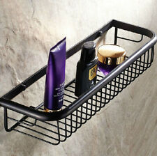 450mm Oil Rubbed Bronze Wall Mount Kitchen Bathroom Shower Shelf Storage Basket