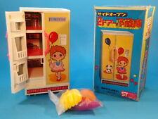 YONEZAWA REFRIGERATOR ICEBOX * TIN & PLASTIC * BOXED JAPAN YONE * STOCK #774