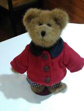 Vtg Boyds Edmund 9175-21 Fall 2003 Red Coat Black Turtleneck Retired 8� W/Tag