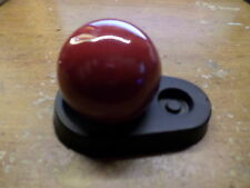 RED SHIFTER KNOB  3/8-24 FINE THREADS  VINTAGE HURST SHIFTERS NEW