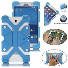 "For Samsung Galaxy Tab 2/3/4/ 7"" 8"" 10"" Safe Silicone Shockproof Cover Case-Blue"